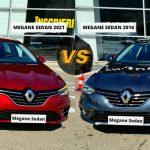 6 diferente dintre NOUL Megane Sedan 2021 si modelul precedent